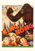 "Movie Posters:Horror, King Kong (RKO, R-1950s). French North African One Sheet (27.5"" X40"").. ..."