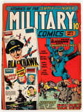 Golden Age (1938-1955):War, Military Comics #2 (Quality, 1941) Condition: VG+....