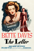 "Movie Posters:Film Noir, The Letter (Warner Brothers, 1940). One Sheet (27"" X 40"").. ..."