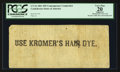 Confederate Notes:1861 Issues, CT16 $50 Advertising Note 1861.. ...
