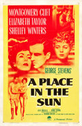 "Movie Posters:Drama, A Place in the Sun (Paramount, 1951). One Sheet (27"" X 41"").. ..."