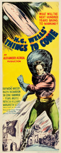 "Movie Posters:Science Fiction, Things to Come (United Artists, 1936). Insert (14"" X 36"").. ..."