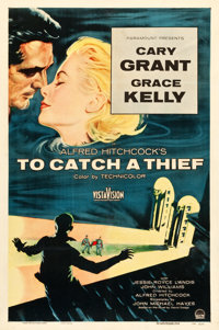 "To Catch a Thief (Paramount, 1955). One Sheet (27"" X 40.5"")"