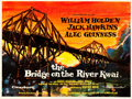 "Movie Posters:War, The Bridge on the River Kwai (Columbia, 1958). British Quad (30"" X40"") Artwork Style.. ..."