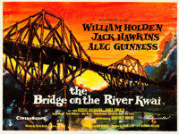 "The Bridge on the River Kwai (Columbia, 1958). British Quad (30"" X 40"") Artwork Style"