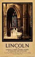 """Movie Posters:Miscellaneous, Lincoln and York Travel Posters (London and North Eastern Railway, 1931). Posters (2) (25"""" X 40"""") Artist: Fred Taylor.. ... (Total: 2 Items)"""