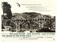 "The Bridge on the River Kwai (Columbia, 1958). British Quad (30"" X 40"") Photo Style"