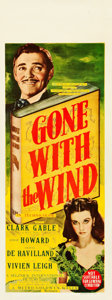 "Movie Posters:Academy Award Winners, Gone with the Wind (MGM, 1939). Pre-War Australian Daybill (15"" X40"").. ..."