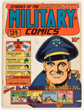 Golden Age (1938-1955):War, Military Comics #7 (Quality, 1942) Condition: VG....