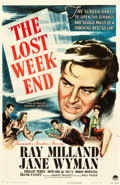 "Movie Posters:Academy Award Winners, The Lost Weekend (Paramount, 1945). One Sheet (26.25"" X 40.25"")....."