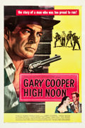 "Movie Posters:Western, High Noon (United Artists, 1952). One Sheet (27.5"" X 41"").. ..."