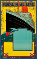 "Movie Posters:Miscellaneous, Royal Mail Travel Poster (1933). Stock Poster (25"" X 40"").. ..."