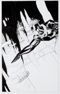 Original Comic Art:Splash Pages, Travis Charest WildC.A.T.s #26 Splash Page 8 Original Art(Image, 1996)....