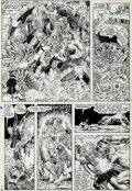 "Original Comic Art:Panel Pages, Arthur Adams X-Men Annual #9 ""There's No Place Like Home""Page 30 Original Art (Marvel, 1985)...."