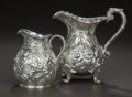 Silver & Vertu:Hollowware, TWO AMERICAN SILVER CREAMERS, Samuel Kirk & Son, Baltimore, Maryland, circa 1927. Marks: S KIRK & SON INC., STERLING, 925/... (Total: 2 Items)