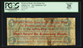 Confederate Notes:1864 Issues, T69 $5 Advertising Note1864.. ...