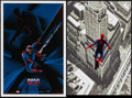 "Movie Posters:Science Fiction, The Amazing Spider-Man 2 & Other Lot (Sony, 2014). IMAX Posters(2) (13.25"" X 19.25"", 13"" X 19""). Science Fiction.. ... (Total: 2Items)"