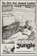 """Movie Posters:Sexploitation, West End Jungle & Other Lot (International Film Distributors,1961). One Sheets (2) (27"""" X 41""""). Sexploitation.. ... (Total: 2Items)"""