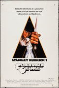 "Movie Posters:Science Fiction, A Clockwork Orange (Warner Brothers, 1971). Poster (40"" X 60"")R-Rated Style. Science Fiction.. ..."