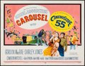 "Movie Posters:Musical, Carousel (20th Century Fox, 1956). Half Sheet (22"" X 28""). Musical.. ..."