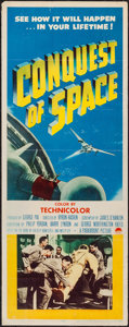 """Movie Posters:Science Fiction, Conquest of Space (Paramount, 1955). Insert (14"""" X 36""""). Science Fiction.. ..."""