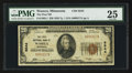 National Bank Notes:Minnesota, Waseca, MN - $20 1929 Ty. 1 The First NB Ch. # 6544. ...