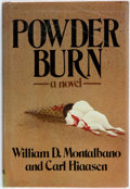 Books:Mystery & Detective Fiction, William D. Montanan and Carl Hiaasen. Powder Burn. New York:Atheneum, 1981. First edition. Publisher's binding with...