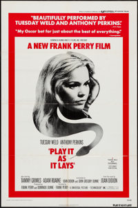 """Play It As It Lays and Others Lot (Universal, 1972). One Sheets (8) (27"""" X 41""""). Drama. ... (Total: 8 Items)"""