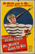 "Movie Posters:Comedy, Mr. Winkle Goes to War (Columbia, 1944). One Sheet (27"" X 41"") Style B, Title Lobby Card and Lobby Cards (6) (11"" X 14""). Co... (Total: 8 Items)"