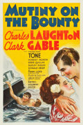 "Movie Posters:Academy Award Winners, Mutiny on the Bounty (MGM, 1935). One Sheet (27"" X 41"") Style D....."