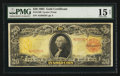 Large Size:Gold Certificates, Fr. 1180 $20 1905 Gold Certificate PMG Choice Fine 15 Net.. ...