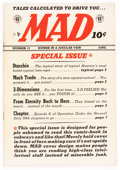 Golden Age (1938-1955):Humor, Mad #12 (EC, 1954) Condition: FN....