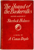 Books:Mystery & Detective Fiction, Arthur Conan Doyle. The Hound of the Baskervilles. New York:McClure, Phillips & Co. 1902. Publisher's binding with ...