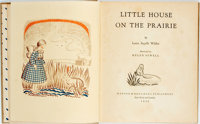 Laura Ingalls Wilder. Little House on the Prairie. Illustrated by Helen Sewell. New York: Harpe