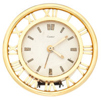 Cartier Table Stand Alarm Clock
