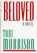 Books:Literature 1900-up, Toni Morrison. Beloved. New York: Knopf, 1987. First edition. Publisher's cloth and original dust jacket. Spine ligh...