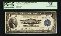 Fr. 743* $1 1918 Federal Reserve Bank Note PCGS Apparent Very Fine 35
