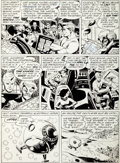 "Original Comic Art:Panel Pages, Alex Toth Rip Hunter... Time Master #6 ""The Secret of theAncient Seer"" Page 2 Original Art (DC, 1962)...."