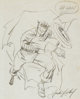 Jack Kirby - Captain America Sketch Original Art (1964)