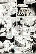 "Original Comic Art:Panel Pages, Bernie Wrightson The Unexpected #128 ""There's More Than OneWay to Get Framed"" Page 7 Original Art (DC, 1971)...."