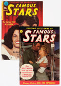 Golden Age (1938-1955):Miscellaneous, Famous Stars #1 and 4 Group (Ziff-Davis, 1950-51).... (Total: 2 Comic Books)