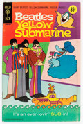 Silver Age (1956-1969):Miscellaneous, Movie Comics: Yellow Submarine (Gold Key, 1969) Condition: FN....