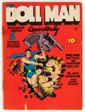 Golden Age (1938-1955):Superhero, Doll Man Quarterly #1 (Quality, 1941) Condition: GD/VG....