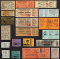 Boxing Collectibles:Memorabilia, 1935-86 Boxing Tickets & Stubs Lot of 20....