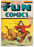 Golden Age (1938-1955):Miscellaneous, More Fun Comics #37 (DC, 1938) Condition: VG....