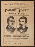 Boxing Collectibles:Memorabilia, 1870's-80's Famous Fights in the Prize Ring Issues 1-30, 33-36 Lot of 33....