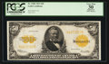 Large Size:Gold Certificates, Fr. 1200 $50 1922 Gold Certificate PCGS Apparent Very Fine 30.. ...