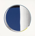 Prints:Contemporary, ROY LICHTENSTEIN (American, 1923-1997). Mirror #3 (from theMirror series), 1972. Line-cut and screenprint inco...