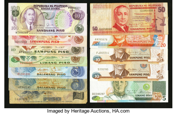 Republic of the Philippines       (Total: 24 notes) World