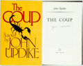 Books:Literature 1900-up, John Updike. SIGNED. The Coup. London: Andre Deutsch, 1979.First British edition. Signed by the author. Publish...